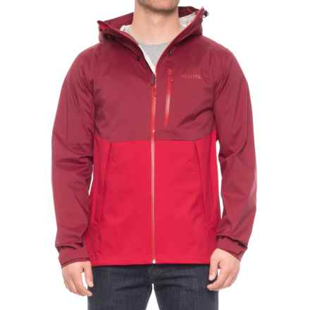 Marmot Asilomar Jacket - Waterproof (For Men) in Brick/Team Red - Closeouts