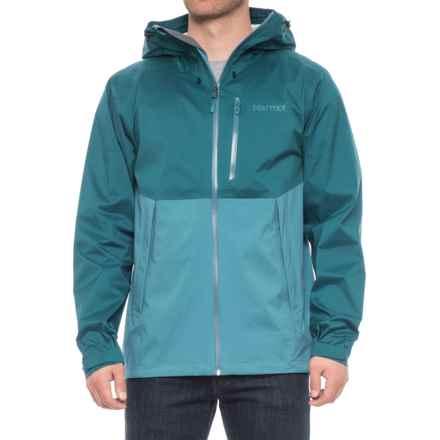 Marmot Asilomar Jacket - Waterproof (For Men) in Moroccan Blue/Slate Blue - Closeouts