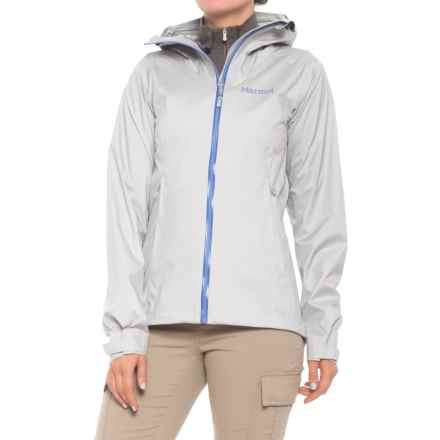Marmot Asilomar Jacket - Waterproof (For Women) in Bright Steel/Dusty Denim - Closeouts