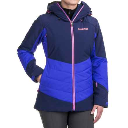 Marmot Astra Ski Jacket - Waterproof, Insulated (For Women) in Arctic Navy/Royal Night - Closeouts