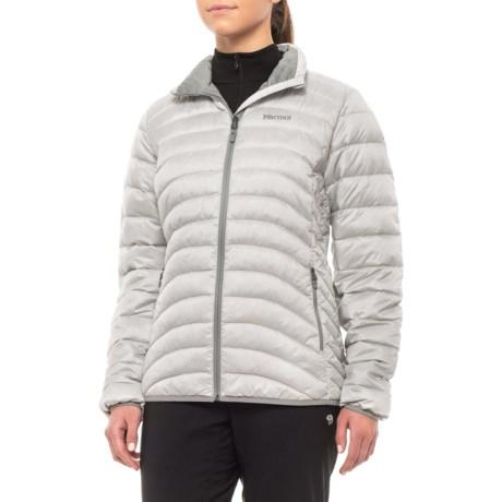 c5a8555abbc Marmot Aurora Down Jacket - 600 Fill Power (For Women) in Glacier Grey