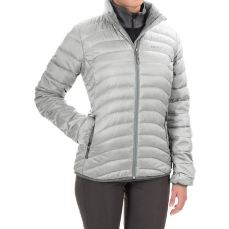 Marmot Aurora Down Jacket - 650 Fill Power (For Women) in Glacier Grey