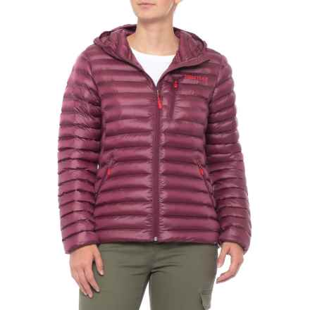 Marmot Avant Featherless Hoodie - Insulated (For Women) in Dahlia - Closeouts