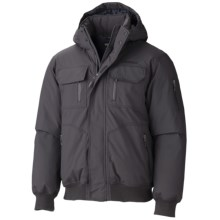 Marmot Aviate Down Jacket - 650 Fill Power, Waterproof, Insulated (For Men) in Dark Granite - Closeouts