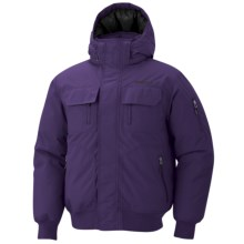 Marmot Aviate Down Jacket - 650 Fill Power, Waterproof, Insulated (For Men) in Dark Violet - Closeouts