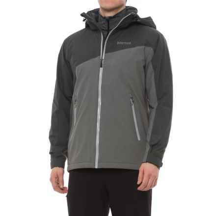 Marmot Axis NanoPro® Jacket - Waterproof, Insulated (For Men) in Slate Grey/Cinder - Closeouts