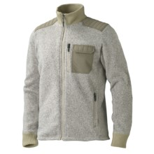Marmot Backroad Fleece Jacket (For Men) in Sandstorm - Closeouts