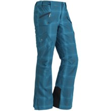 Marmot Backstage Ski Pants - Waterproof, Insulated (For Women) in Blue Ink - Closeouts