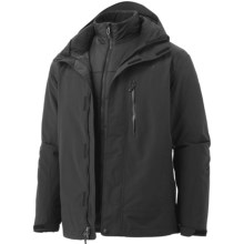 Marmot Bastione Component Jacket - Waterproof, 3-in-1 (For Men) in Black - Closeouts