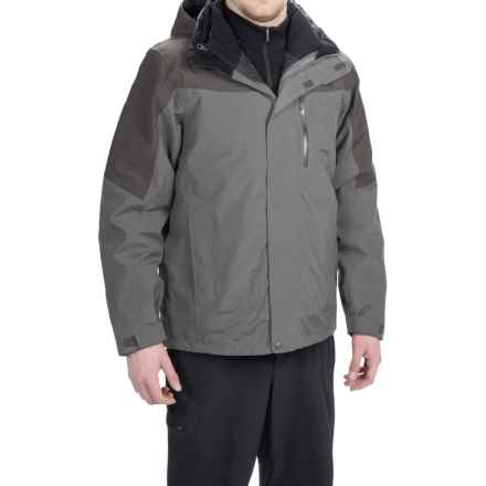 Marmot Bastione MemBrain® Jacket - Waterproof, 3-in-1 (For Men) in Cinder/Slate Grey - Closeouts