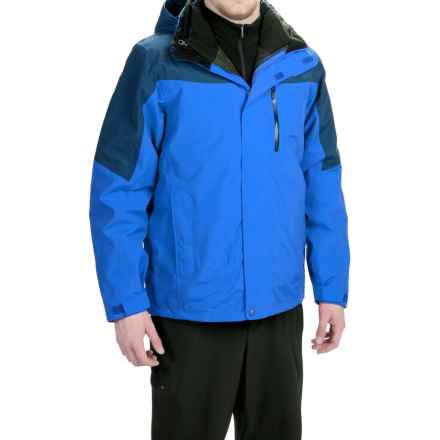 Marmot Bastione MemBrain® Jacket - Waterproof, 3-in-1 (For Men) in Cobalt Blue/Blue Night - Closeouts