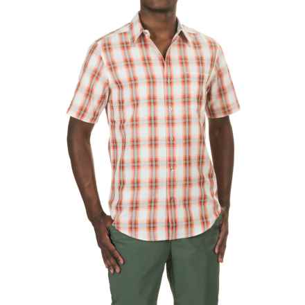 Marmot Bay View Shirt - UPF 25, Short Sleeve (For Men) in Alpenglow - Closeouts