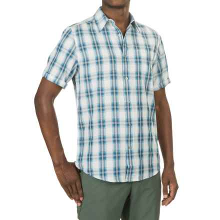 Marmot Bay View Shirt - UPF 25, Short Sleeve (For Men) in Vintage Navy - Closeouts