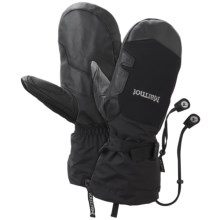 Marmot Big Mountain Gore-Tex® Mittens - Waterproof (For Men) in Black - Closeouts