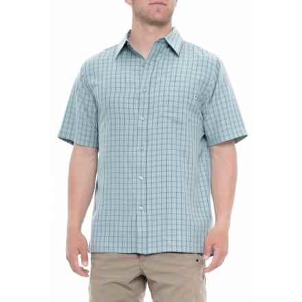 e320658011 Marmot Blue Granite Eldridge Shirt - UPF 20, Short Sleeve (For Men) in