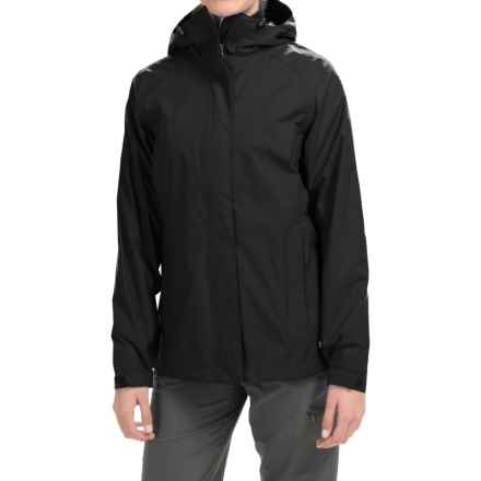 Marmot Boundary Water Jacket - Hooded, Waterproof (For Women) in Black - Closeouts
