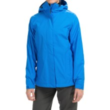 Marmot Boundary Water Jacket - Hooded, Waterproof (For Women) in Ceylon Blue - Closeouts