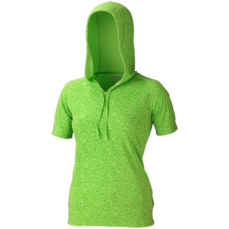 Marmot Bow Hooded Shirt - UPF 30, Short Sleeve (For Women)