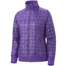 Marmot Brentford Jacket (For Women) in Vibrant Purple Plaid - Closeouts