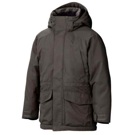 Marmot Bridgeport Down Jacket - 700 Fill Power, Waterproof (For Boys) in Slate Grey - Closeouts