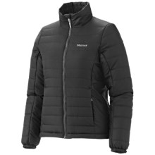 Marmot Brilliant Jacket - Insulated, Recycled Materials (For Women) in Black - Closeouts