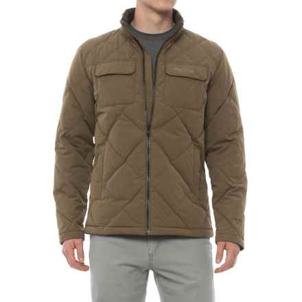 Marmot Burdell Down Jacket - 600 Fill Power (For Men) in Cavern - Closeouts