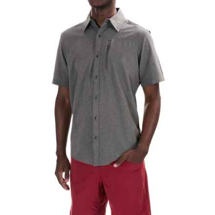 Marmot Caecius Shirt - UPF 25, Short Sleeve (For Men) in Cinder - Closeouts