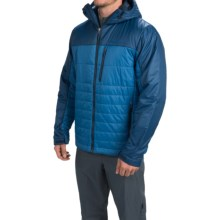 Marmot Caldera Hooded Jacket - Insulated (For Men) in Blue Sapphire / Dark Ink - Closeouts