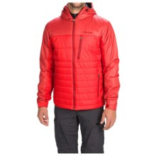 Marmot Caldera Hooded Jacket - Insulated (For Men) in Team Red / Dark Crimson - Closeouts