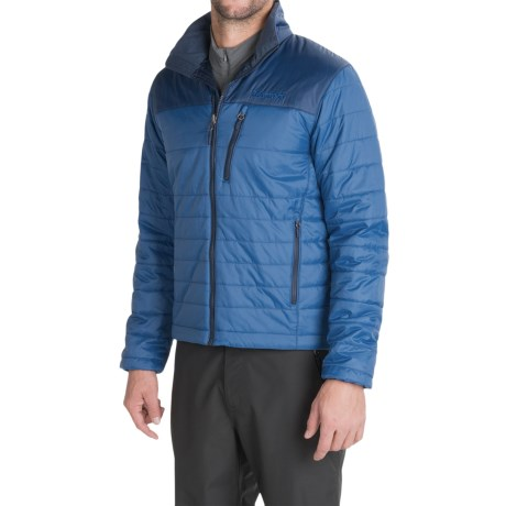 Marmot Caldera Jacket - Insulated (For Men) in Blue Saphire / Dark Ink