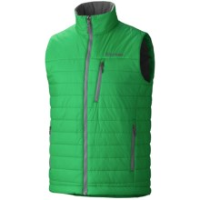 Marmot Caldera Vest - Insulated (For Men) in Dark Fern - Closeouts