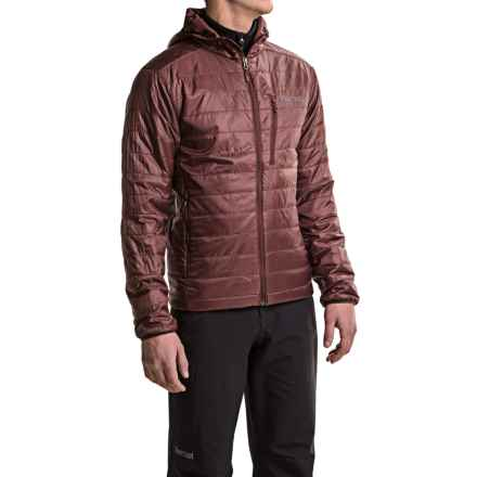 Marmot Calen PrimaLoft® Hooded Jacket - Insulated (For Men) in Marsala Brown - Closeouts