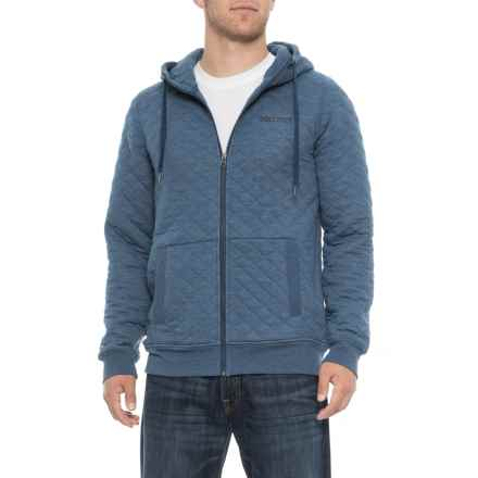 Marmot Calero Hoodie (For Men) in Vintage Navy Heather - Closeouts