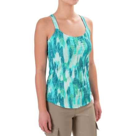 Marmot Camille Tank Top - UPF 35 (For Women) in Gem Green Leaf - Closeouts