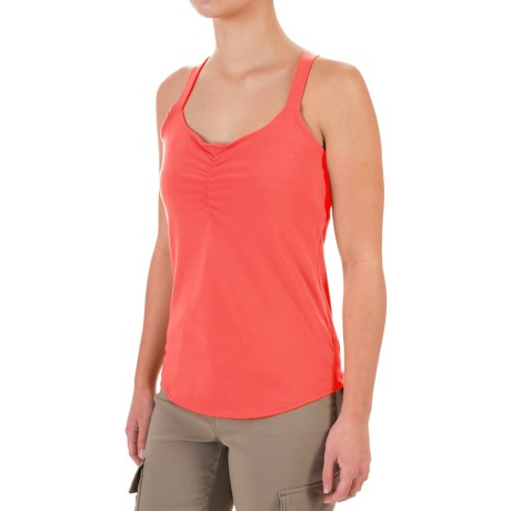 Marmot Camille Tank Top - UPF 35 (For Women) in Neon Coral