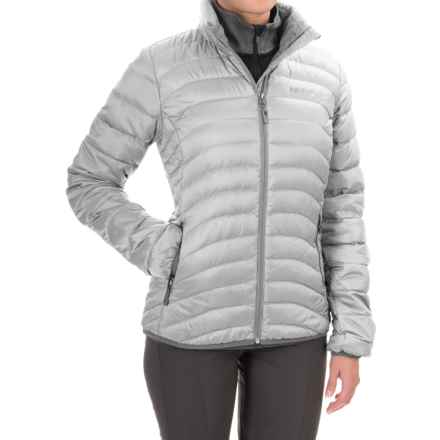 Marmot Carrie Down Jacket - 600 Fill Power (For Women) in Glacier Grey - Closeouts