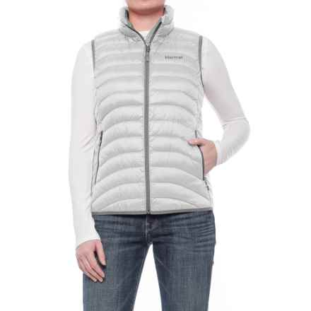 Marmot Carrie Down Vest - 600 Fill Power (For Women) in Glacier Grey - Closeouts
