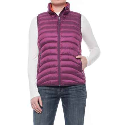 Marmot Carrie Down Vest - 600 Fill Power (For Women) in Magenta - Closeouts