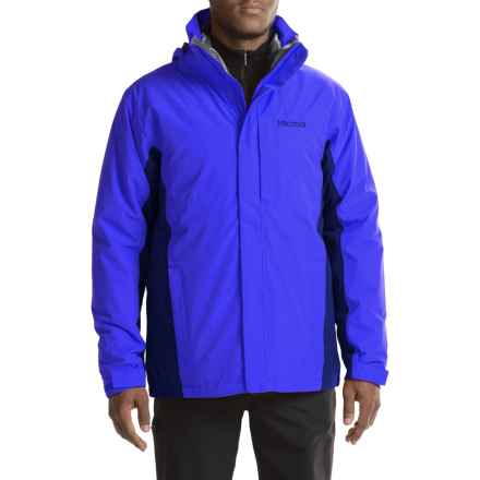Marmot Castleton Component Jacket - Waterproof, Insulated, 3-in-1 (For Men) in True Blue/Arctic Navy - Closeouts