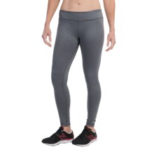 Marmot Catalyst Running Tights - UPF 50+, Reversible (For Women) in Dark Steel/Heather/Black - Closeouts