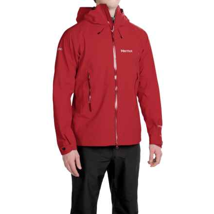 Marmot Cerro Torre Gore-Tex® Jacket - Waterproof (For Men) in Team Red - Closeouts