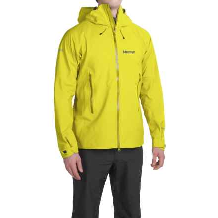 Marmot Cerro Torre Gore-Tex® Jacket - Waterproof (For Men) in Vibrant Yellow - Closeouts