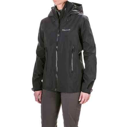 Marmot Cerro Torre Gore-Tex® Jacket - Waterproof (For Women) in Black - Closeouts