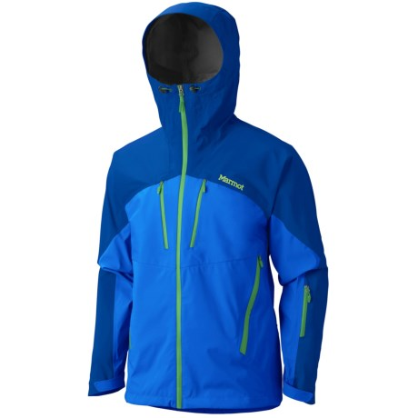 Marmot Cerro Torre Gore-Tex® Pro Shell Ski Jacket - Waterproof (For Men) in Cobalt Blue/Dark Azure