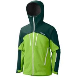 Marmot Cerro Torre Gore-Tex® Pro Shell Ski Jacket - Waterproof (For Men) in Green Envy/Gator