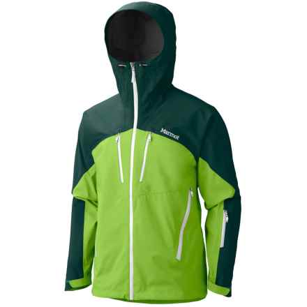Marmot Cerro Torre Gore-Tex® Pro Shell Ski Jacket - Waterproof (For Men) in Green Envy/Gator - Closeouts