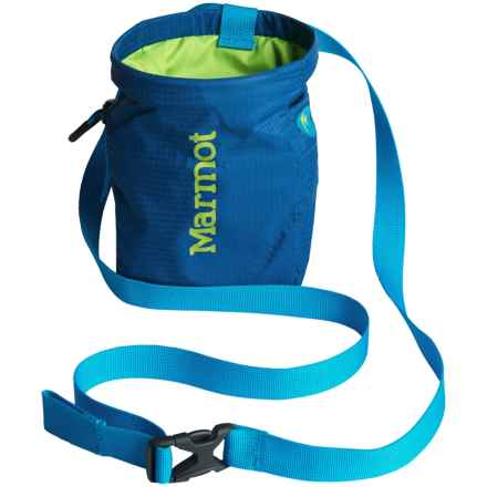Marmot Chalk Bag in Blue Saphire/Green Lime - Closeouts