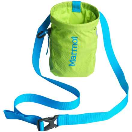 Marmot Chalk Bag in Green Lime/Atomic Blue - Closeouts