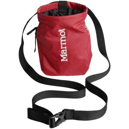 Marmot Chalk Bag in Team Red/Glacier Grey - Closeouts