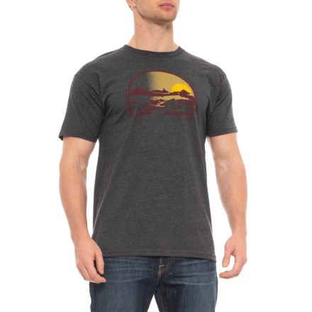 8b71ee68 Marmot Charcoal Heather Weaver T-Shirt - Short Sleeve (For Men) in Charcoal